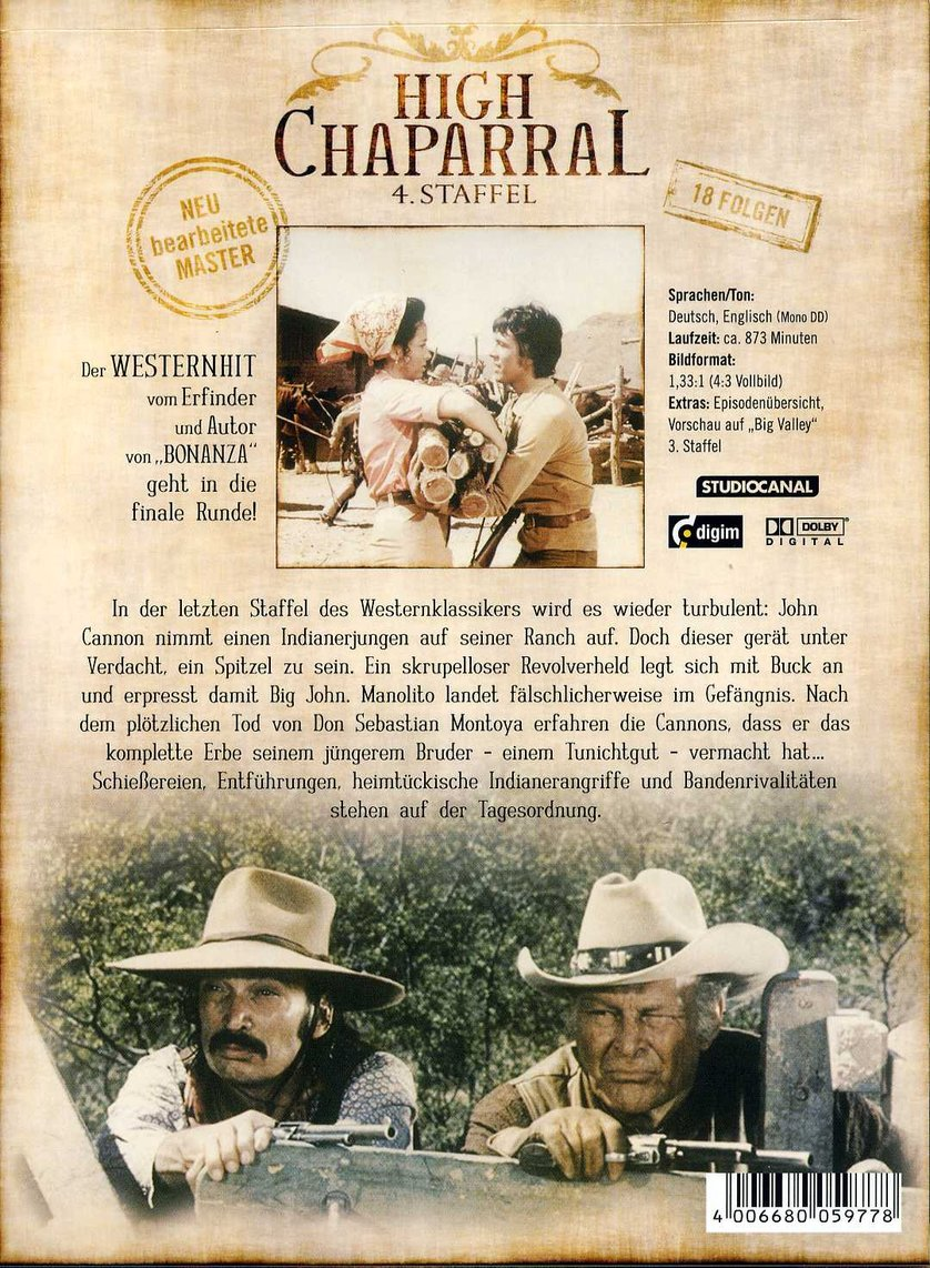 high chaparral deutsch