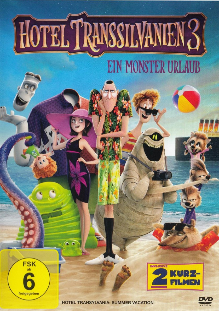 Hotel Transsilvanien 3 Dvd