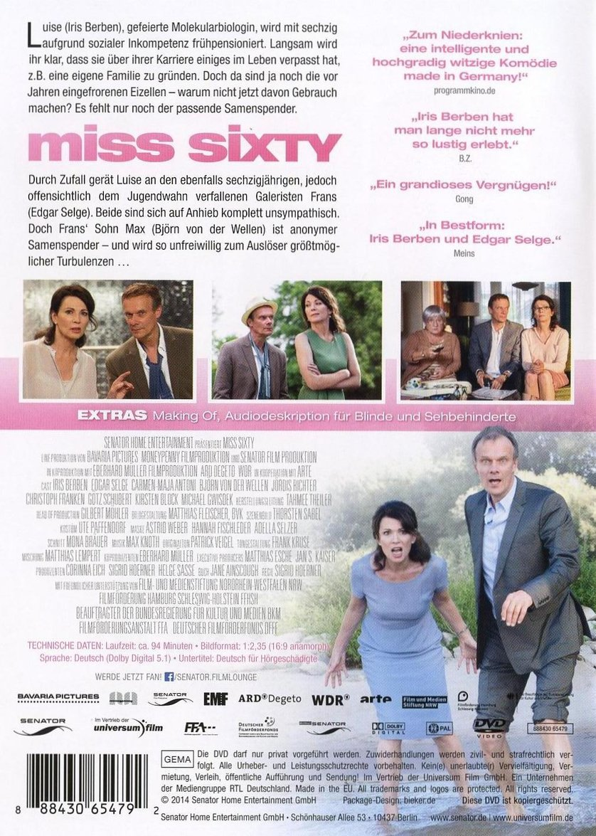 Miss Sixty Film