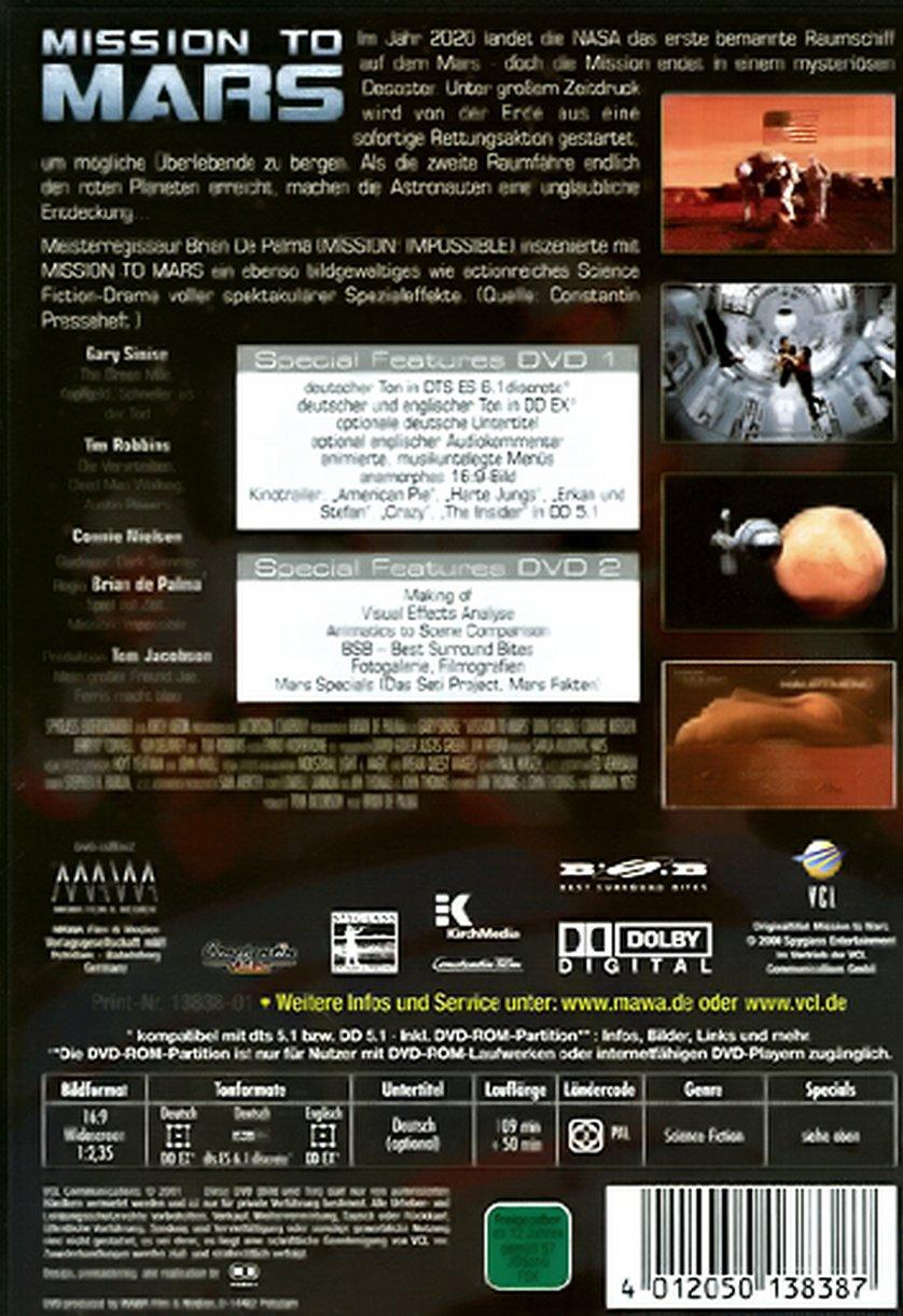 mission to mars blu ray - photo #15