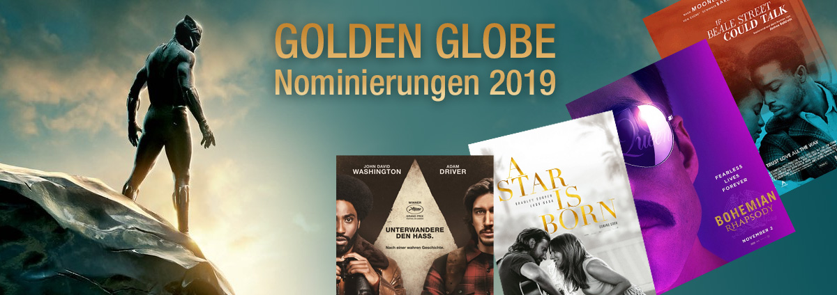 Golden Globe Nominierungen 2019: Die nominierten Filme der Golden Globe Awards 2019
