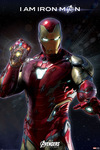 Avengers Endgame - I am Iron Man powered by EMP (Poster)