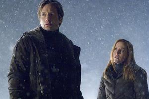 David Duchovny und Gillian Anderson in 'Akte X 2'