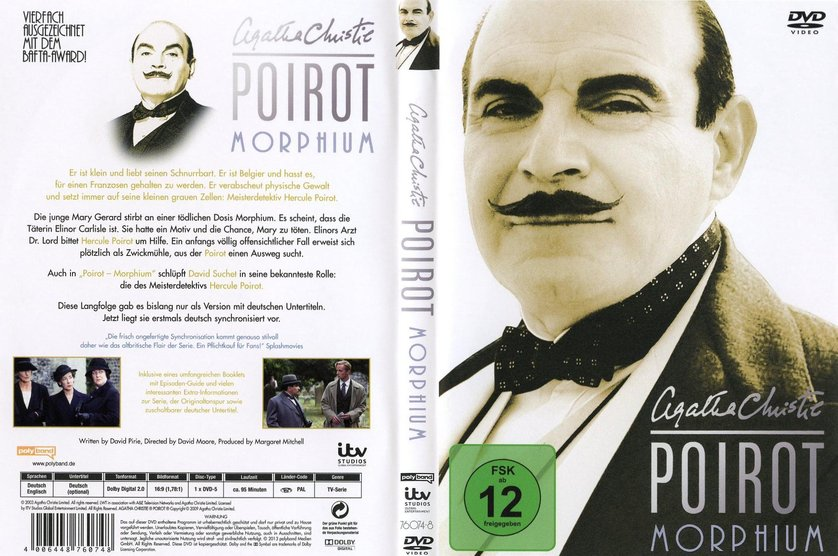 Agatha christie poirot collection 5 dvd oder blu ray leihen