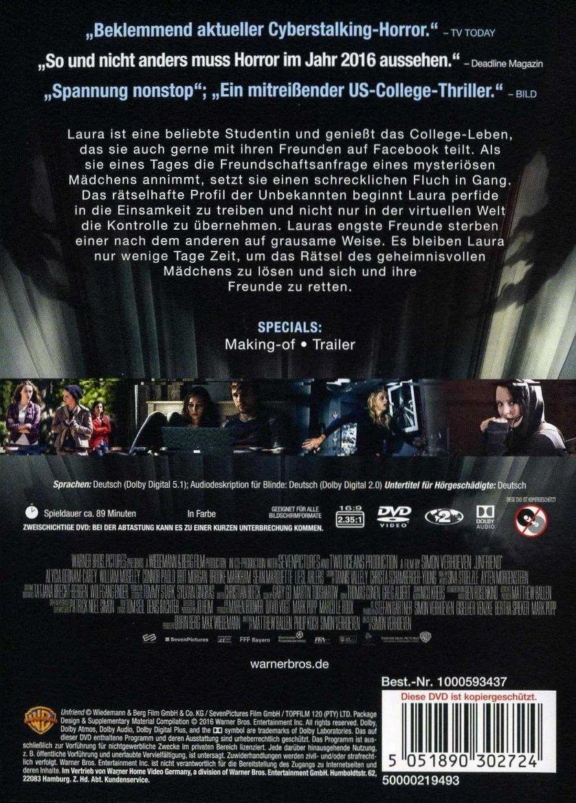 Unfriend Stream Deutsch Movie4k