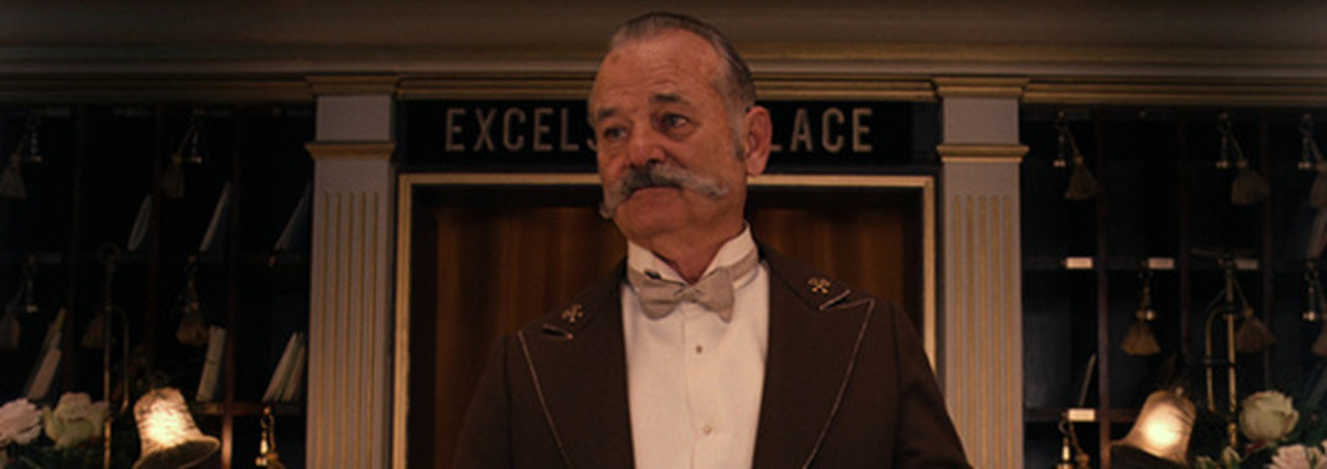 Grand Budapest Hotel: Wes Anderson und Bill Murray: Traumduo