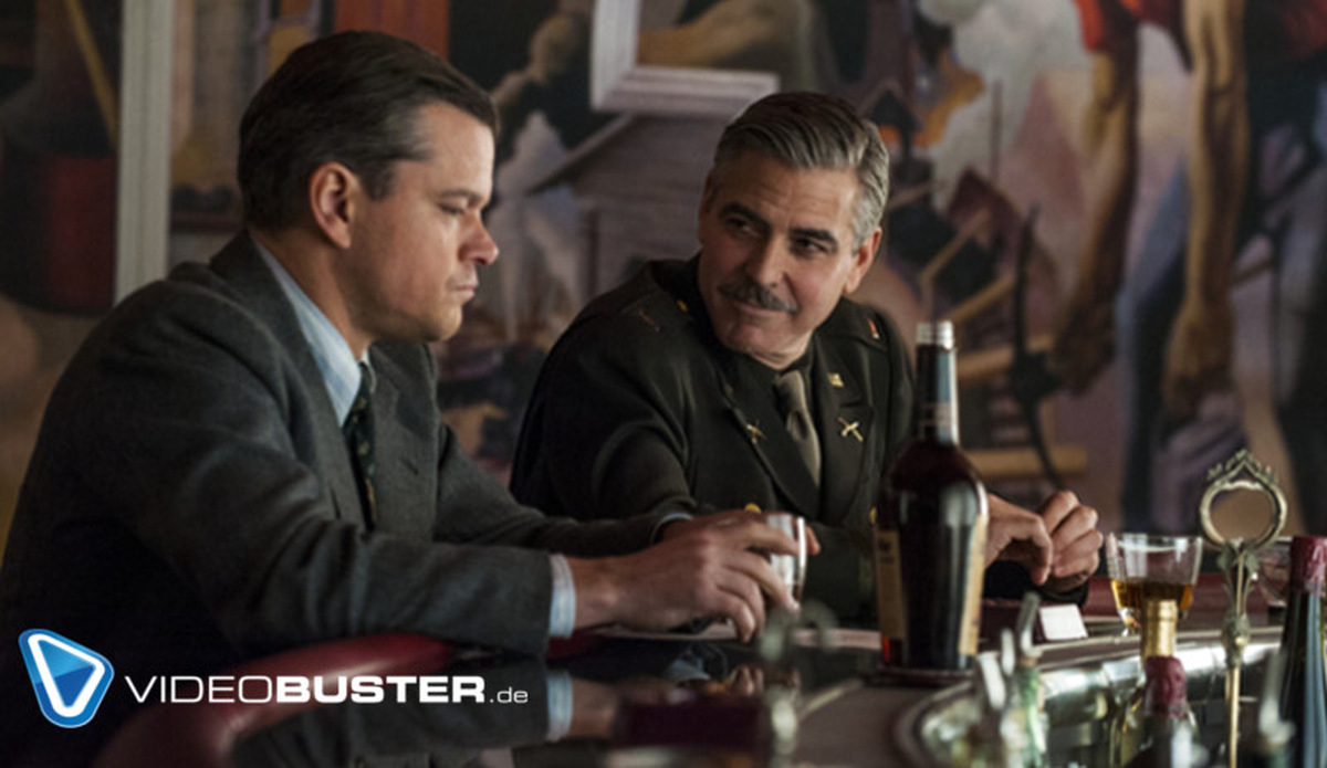 George Clooney: Clooney guckt 'Monuments Men' mit den Obamas