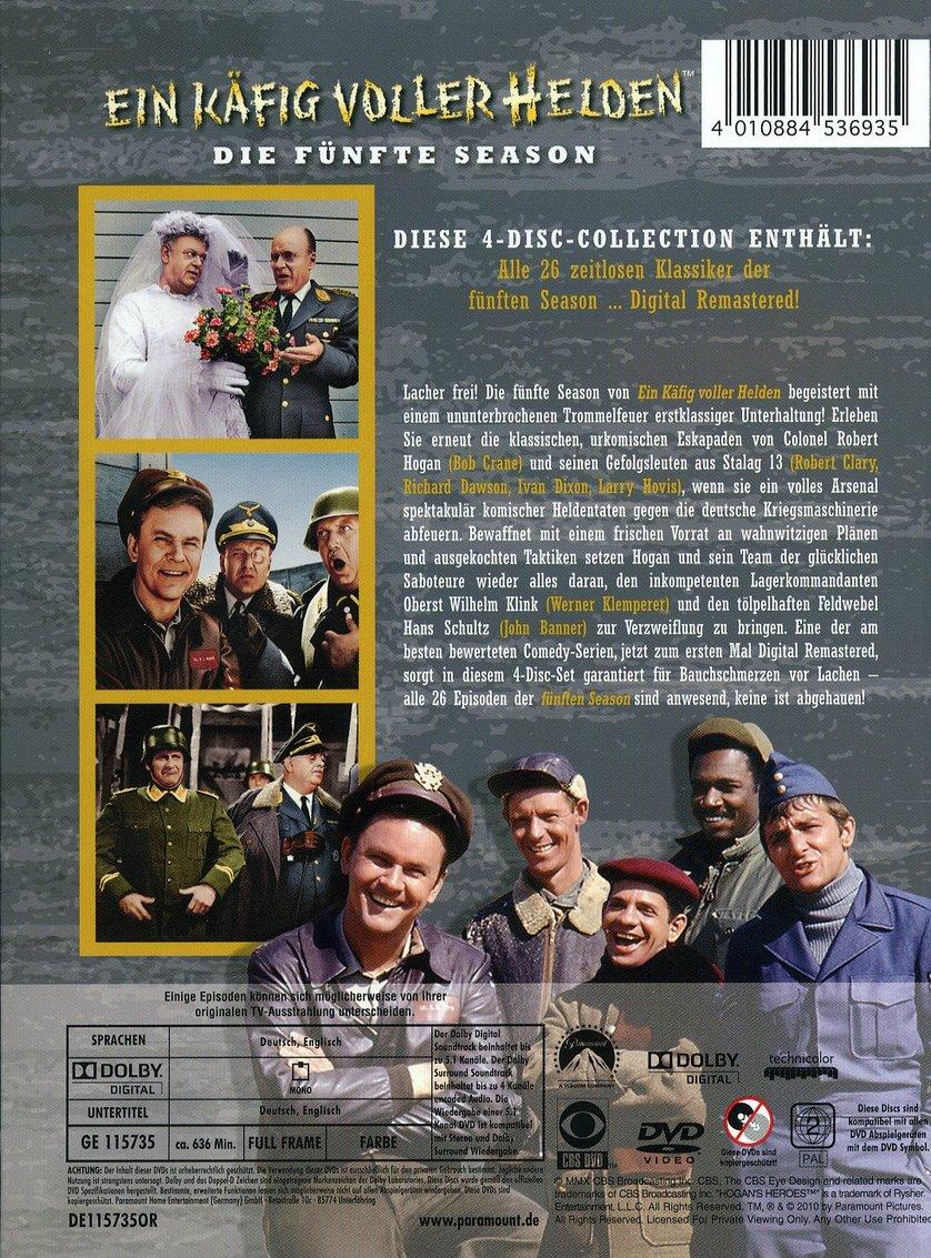 Ein Käfig Voller Helden Staffel 5 Dvd Oder Blu Ray Leihen