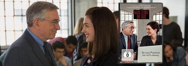 Man lernt nie aus: De Niro geht bei Anne Hathaway in die Lehre!