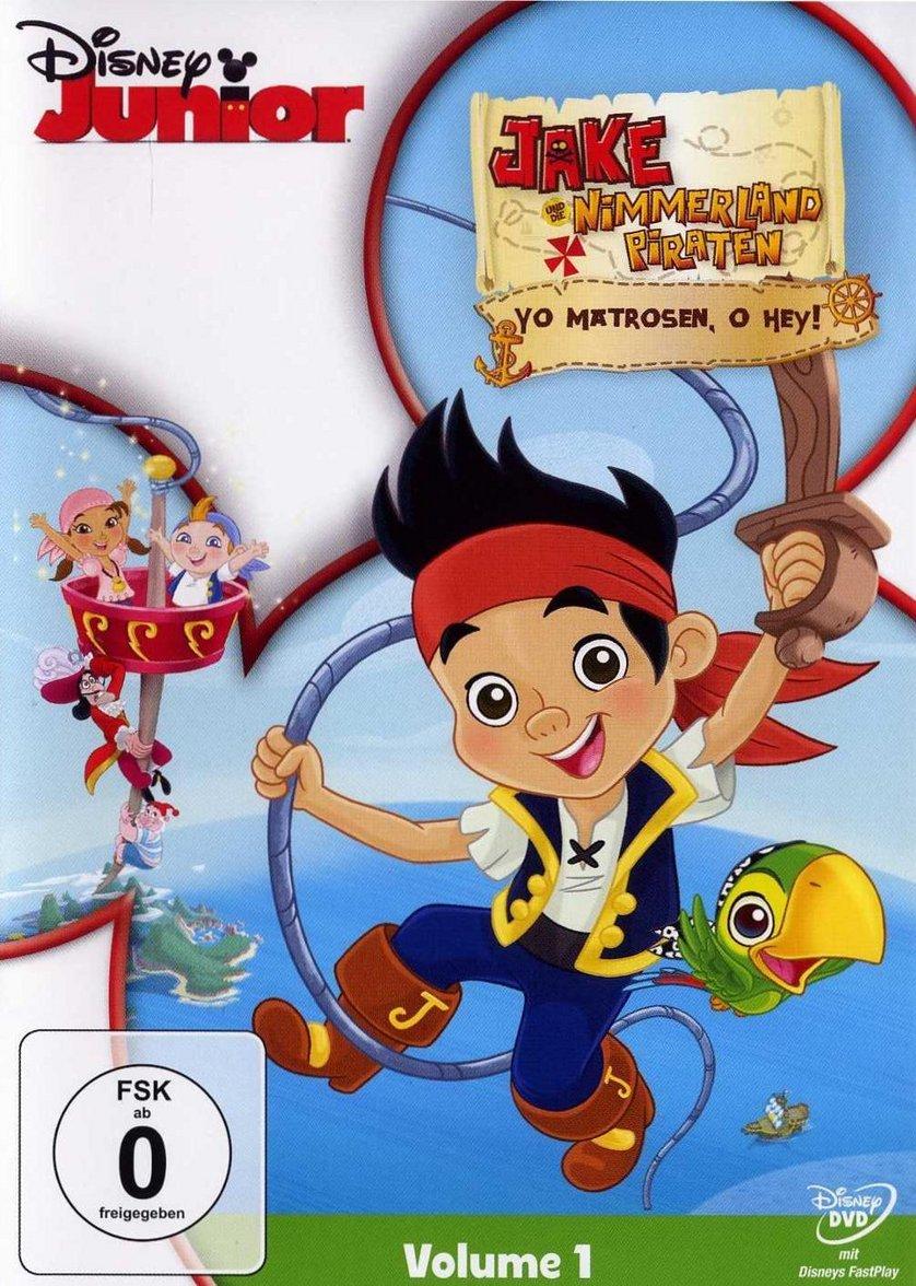 jake und die nimmerland piraten  volume 1 dvd oder blu