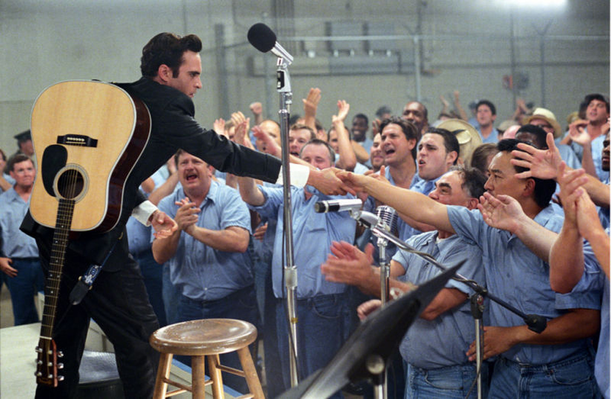 Joaquin Phoenix als Johnny Cash in 'Walk the Line' (USA 2005) © 20th Century Fox