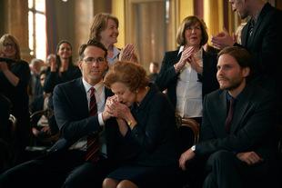Reynolds, Helen Mirren und Daniel Brühl in 'Die Frau in Gold'