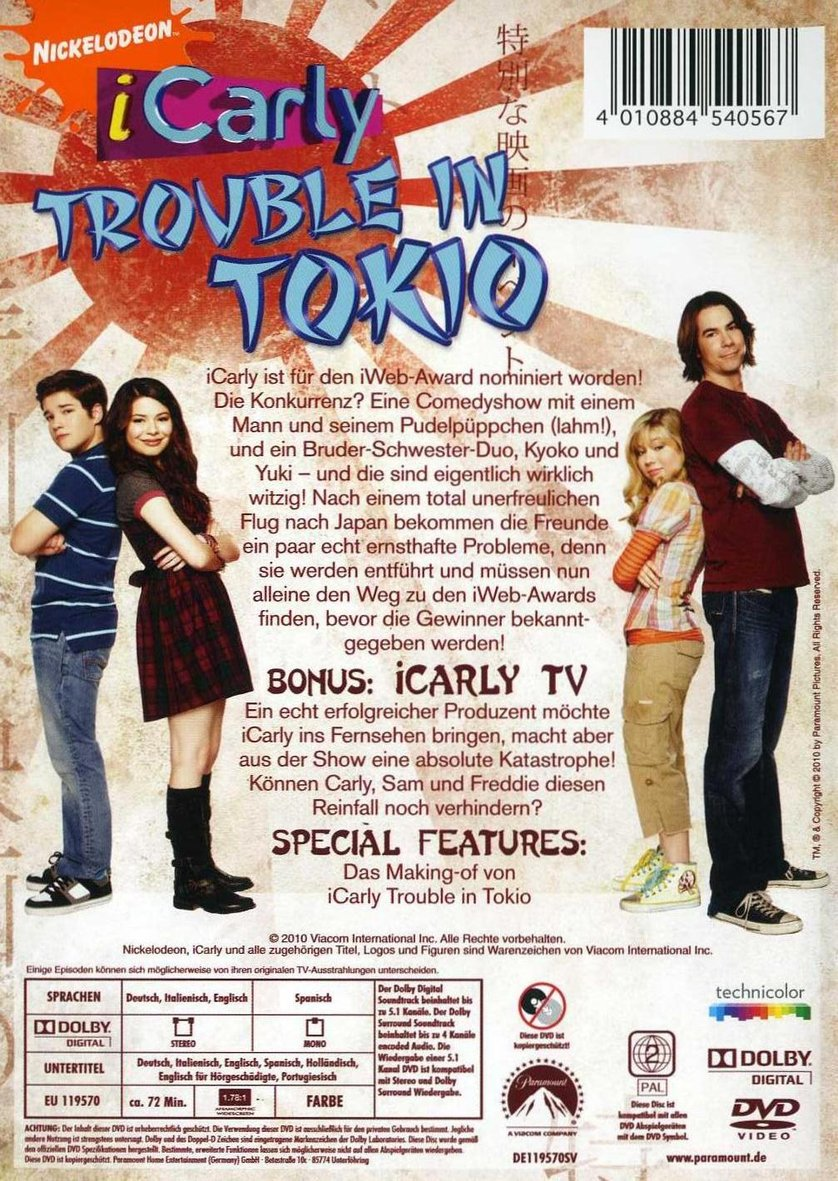 Icarly: Trouble In Tokio