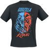 Godzilla Godzilla vs. King Kong powered by EMP (T-Shirt)