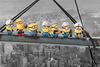 Minions Minions - Lunch On A Skyscraper powered by EMP (Poster)