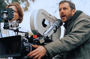 Mark Romanek beim 'One Hour Photo' Dreh © 20th Century Fox