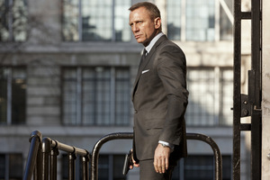 Daniel Craig 2012 in 'James Bond 007 - Skyfall' © Sony Pictures