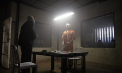 Forest Whitaker und Eric Bana in 'The Forgiven' © Saban Films