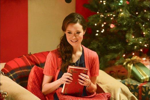 Eine Elfe zu Weihnachten