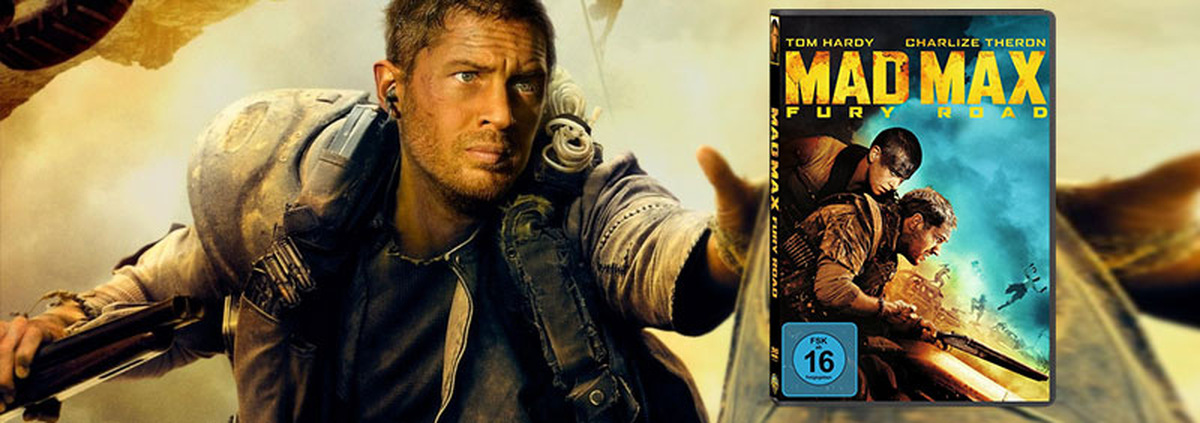 Mad Max 4 - Fury Road: Endzeit-Action fürs Heimkino mit Mad Max 4