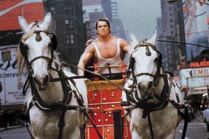 Arnold Schwarzenegger in 'Herkules in New York' © EuroVideo