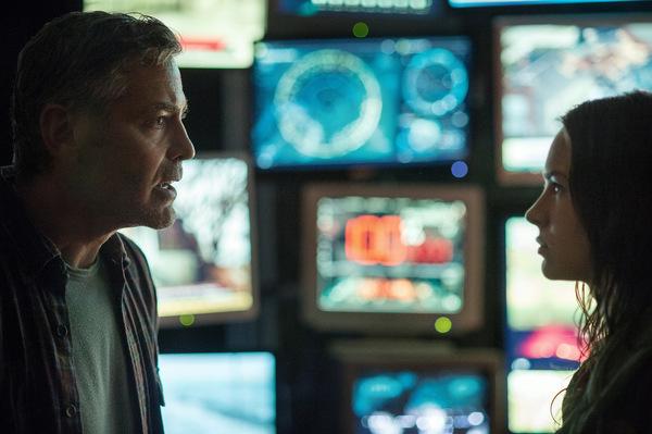 Clooney und Britt Robertson