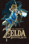 The Legend Of Zelda Breath Of The Wild - Game Cover powered by EMP (Poster)