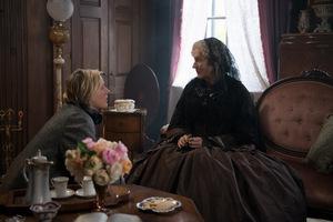 Regisseurin Greta Gerwig mit Meryl Streep
