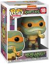 Teenage Mutant Ninja Turtles Michelangelo Vinyl Figur 18 powered by EMP (Funko Pop!)