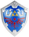 The Legend Of Zelda Hylia Shield powered by EMP (Deko-Waffe)