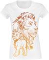 Der König der Löwen Simba And Mufasa - Father And Son powered by EMP (T-Shirt)