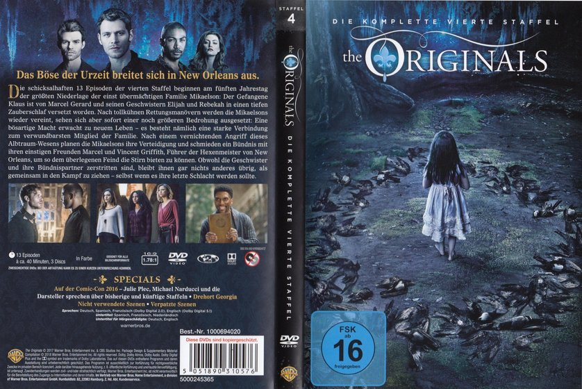 The Originals Staffel 4 Dvd