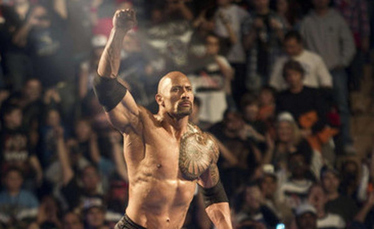 'WWE - Die epische Reise des Dwayne 'The Rock' Johnson' © Silver Vision 2012