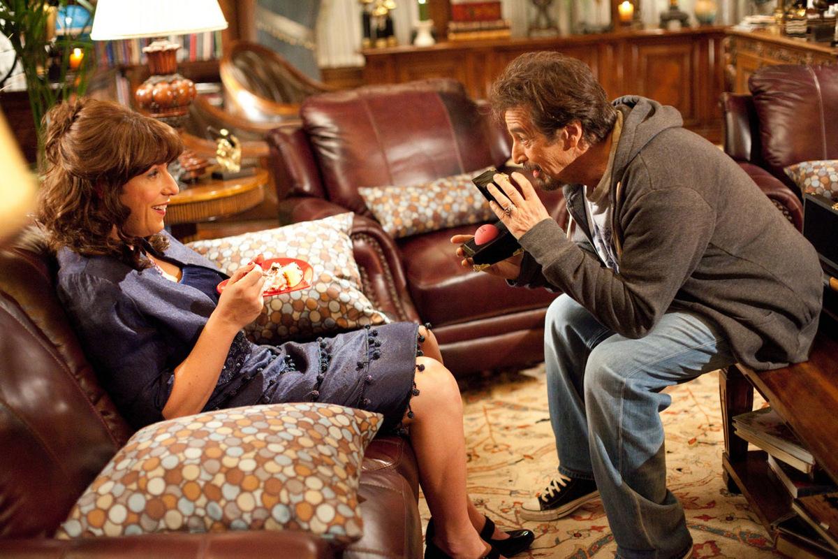 Adam Sandler und Al Pacino in 'Jack und Jill' © Sony Pictures Home Entertainment 2011