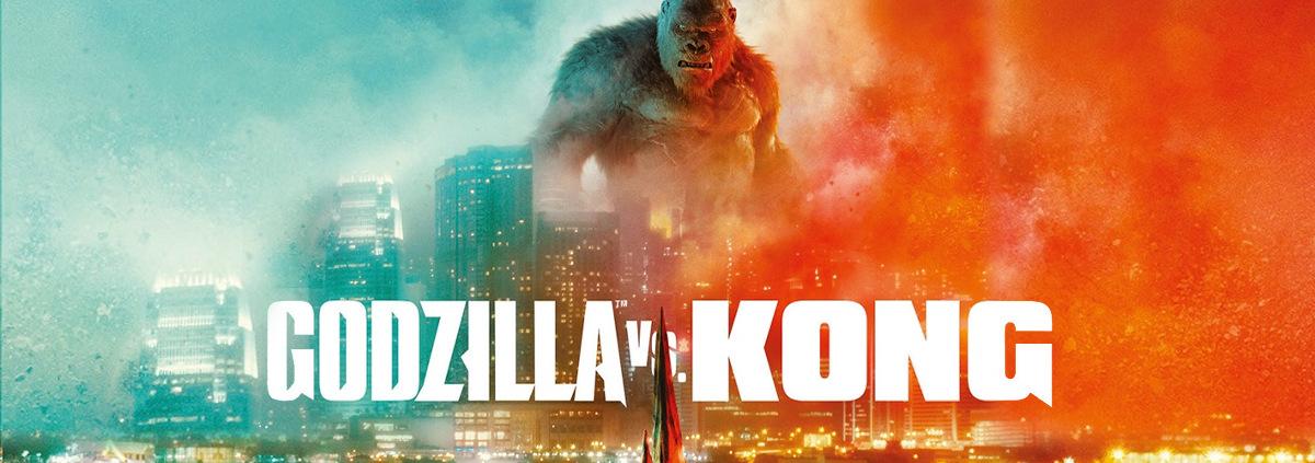 MonsterVerse: Godzilla vs. Kong: Erlebt mit uns das legendäre Duell des MonsterVerse!