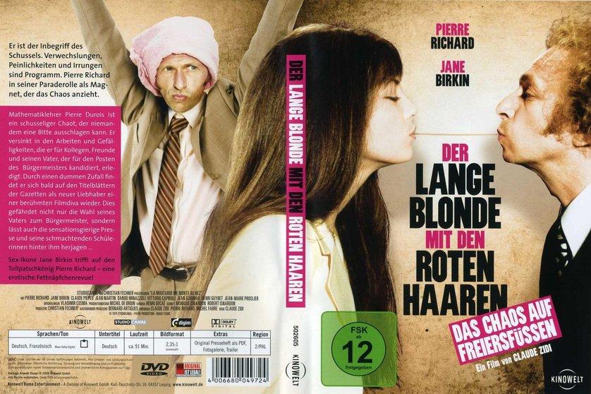 Der Lange Blonde Mit Den Roten Haaren