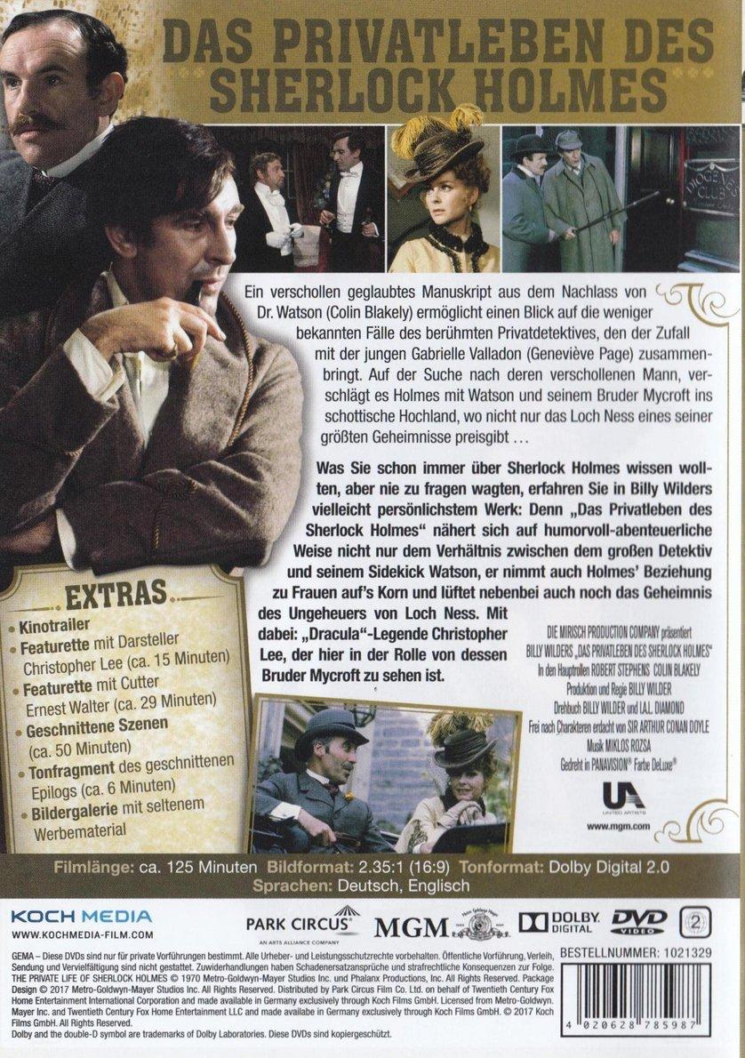 Das Privatleben Des Sherlock Holmes Stream
