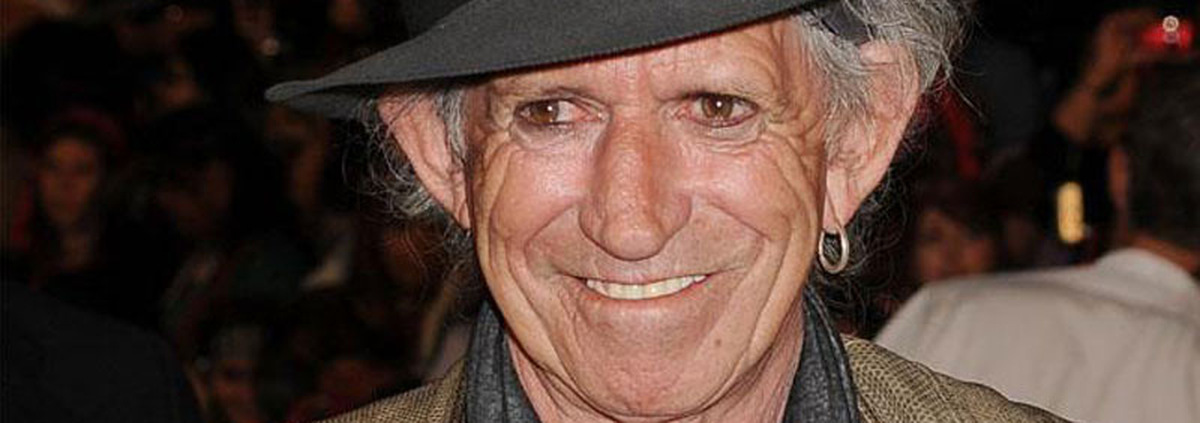 Keith Richards: Rolling Stone Richards geht bei der 'Black Pearl' an Bord