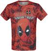 Deadpool Deadpool - Allover powered by EMP (T-Shirt)