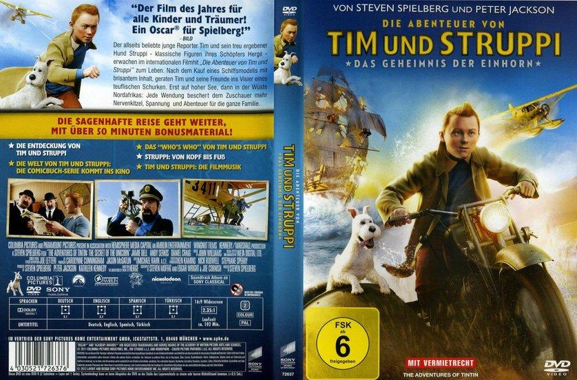 tim und struppi dvd