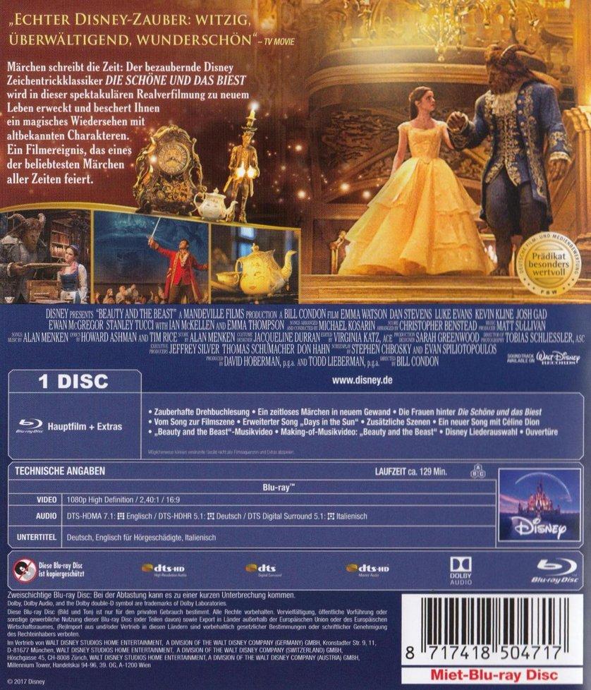 Die Schöne und das Biest: DVD oder Blu-ray leihen ...