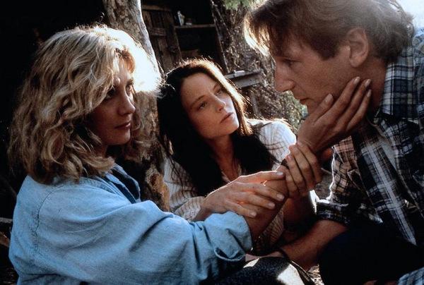 Natasha Richards, Jodie Foster und Liam Neeson © MGM 1994