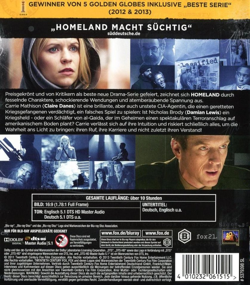 homeland staffel 2 deutsch