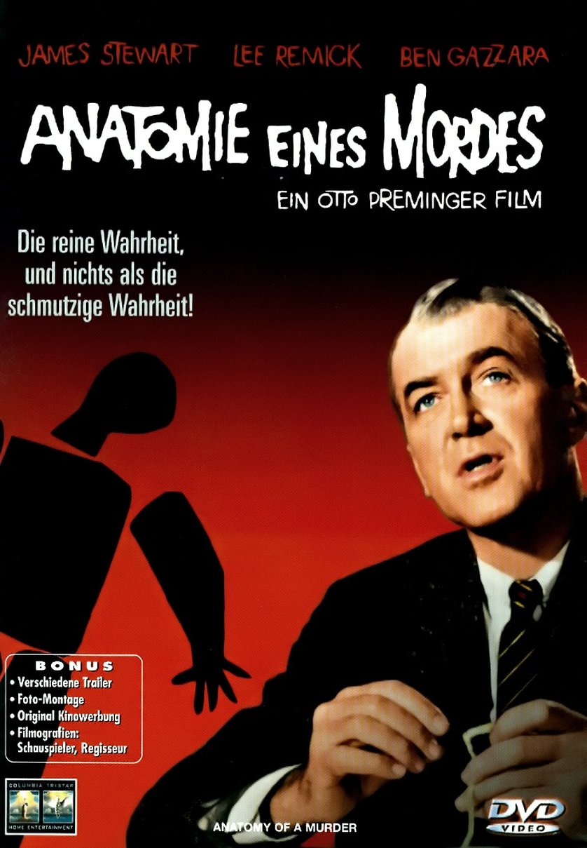 Anatomie eines Mordes: DVD oder Blu-ray leihen - VIDEOBUSTER.de