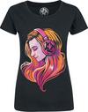 Lara Loft Portrait powered by EMP (T-Shirt)