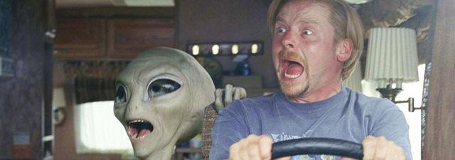 Simon Pegg: Akte-X-Schöpfer will Simon Pegg auf Alienjagd schicken!