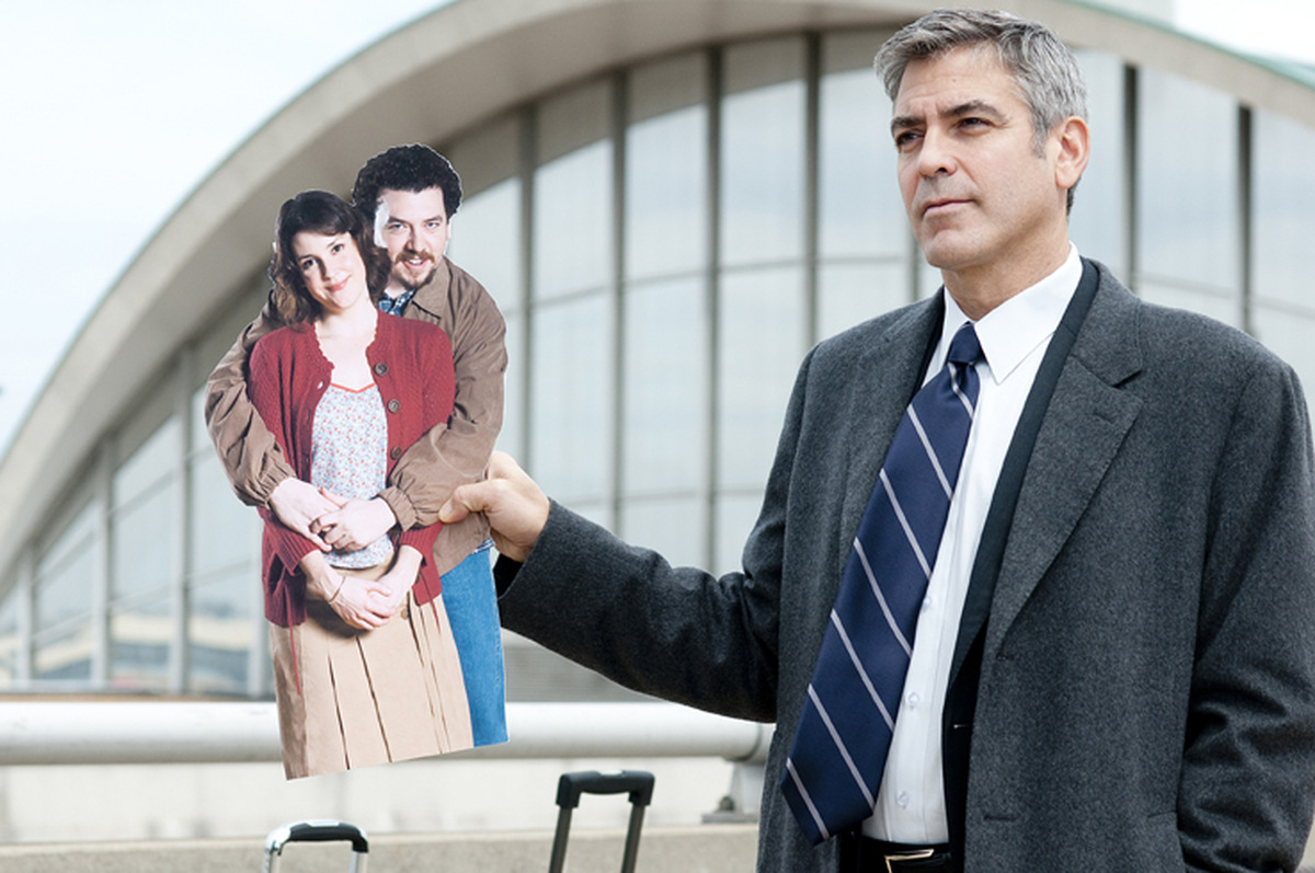 George Clooney in 'Up in the Air' © Paramount Pictures 2012