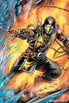 Mortal Kombat Scorpion powered by EMP (Poster)