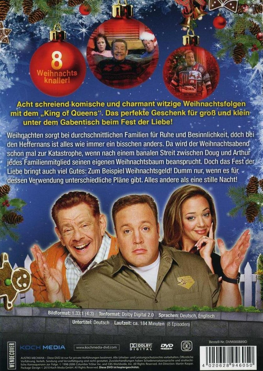 weihnachten mit dem king of queens dvd oder blu ray. Black Bedroom Furniture Sets. Home Design Ideas