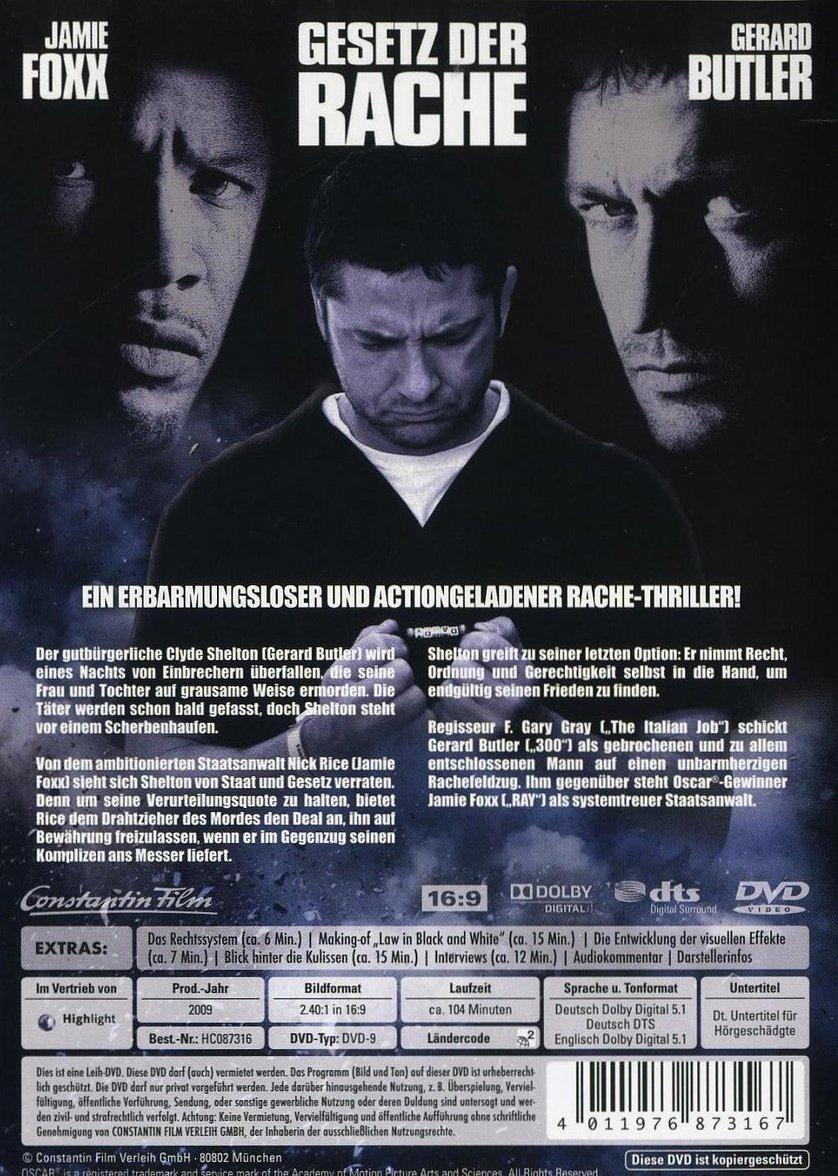 Gesetz der Rache: DVD, Blu-ray oder VoD leihen - VIDEOBUSTER.de